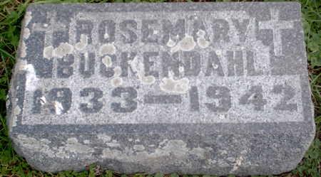 BUCKENDAHL, ROSEMARY - Chickasaw County, Iowa | ROSEMARY BUCKENDAHL