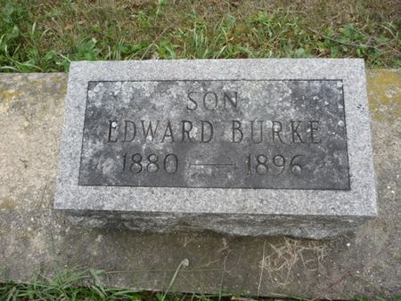 BURKE, EDWARD - Chickasaw County, Iowa | EDWARD BURKE