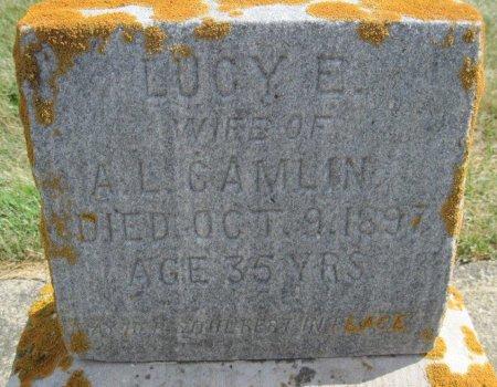 CAMLIN, LUCY E. - Chickasaw County, Iowa | LUCY E. CAMLIN