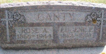 CANTY, EUGENE E. - Chickasaw County, Iowa | EUGENE E. CANTY