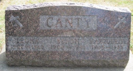 CANTY, MARGUERITE - Chickasaw County, Iowa | MARGUERITE CANTY