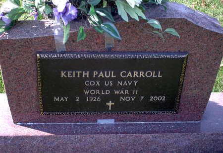 CARROLL, KEITH PAUL - Chickasaw County, Iowa | KEITH PAUL CARROLL