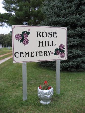 ROSE HILL, CEMETERY - Chickasaw County, Iowa   CEMETERY ROSE HILL