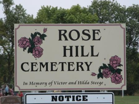 ROSE HILL, CEMETERY - Chickasaw County, Iowa | CEMETERY ROSE HILL