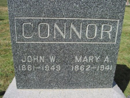 CONNOR, MARY A. - Chickasaw County, Iowa | MARY A. CONNOR
