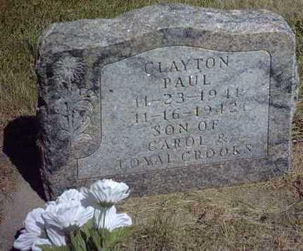 CROOKS, CLAYTON PAUL - Chickasaw County, Iowa | CLAYTON PAUL CROOKS
