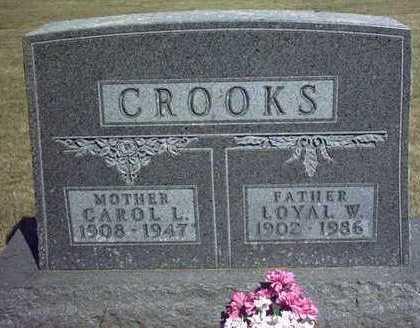 CROOKS, CAROL L. - Chickasaw County, Iowa | CAROL L. CROOKS
