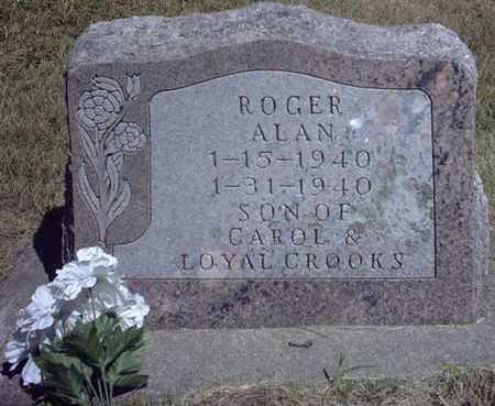 CROOKS, ROGER ALAN - Chickasaw County, Iowa | ROGER ALAN CROOKS