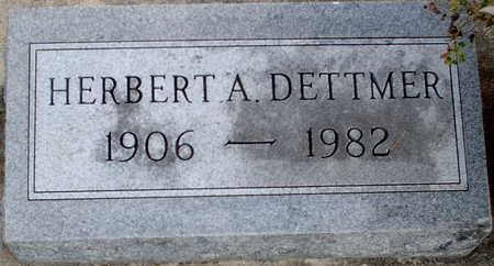 DETTMER, HERBERT A. - Chickasaw County, Iowa   HERBERT A. DETTMER