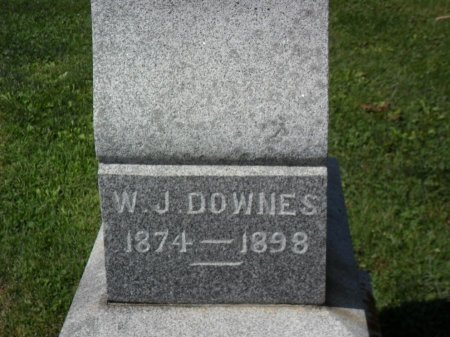 DOWNES, WILLIAM J. - Chickasaw County, Iowa | WILLIAM J. DOWNES