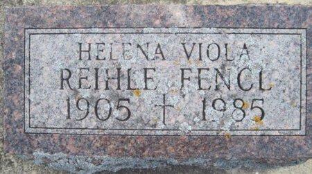 FENCL, HELENA VIOLA - Chickasaw County, Iowa | HELENA VIOLA FENCL
