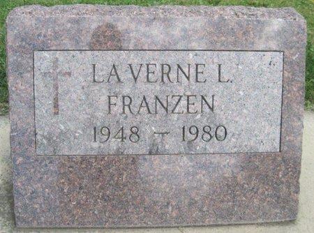 FRANZEN, LA VERNE L. - Chickasaw County, Iowa | LA VERNE L. FRANZEN