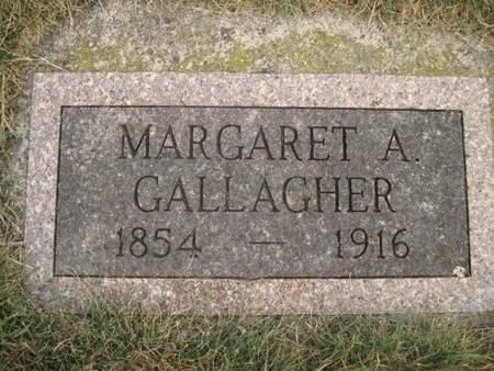 GALLAGHER, MARGARET A. - Chickasaw County, Iowa | MARGARET A. GALLAGHER