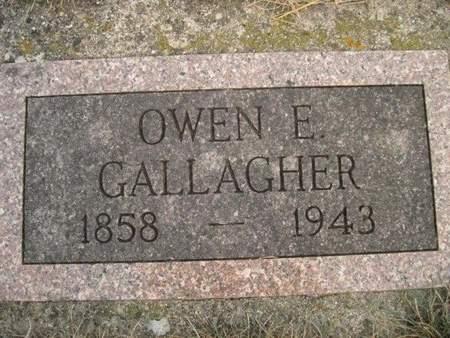 GALLAGHER, OWEN E. - Chickasaw County, Iowa   OWEN E. GALLAGHER