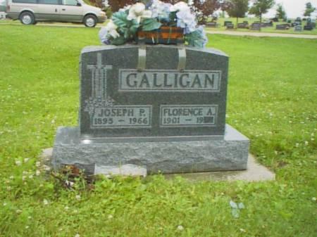 GALLIGAN, FLORENCE A. - Chickasaw County, Iowa | FLORENCE A. GALLIGAN