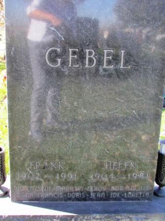 GEBEL, FRANK - Chickasaw County, Iowa | FRANK GEBEL