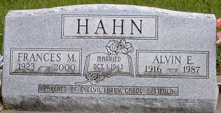 HAHN, FRANCES M - Chickasaw County, Iowa | FRANCES M HAHN