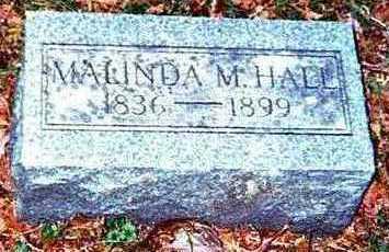 HALL, MALINDA M. - Chickasaw County, Iowa | MALINDA M. HALL