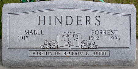 HINDERS, FORREST - Chickasaw County, Iowa | FORREST HINDERS