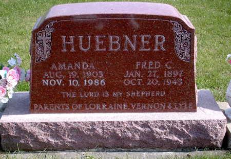 HUEBNER, FRED C. - Chickasaw County, Iowa | FRED C. HUEBNER
