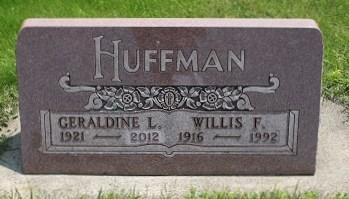 KAHN HUFFMAN, GERALDINE L. - Chickasaw County, Iowa | GERALDINE L. KAHN HUFFMAN
