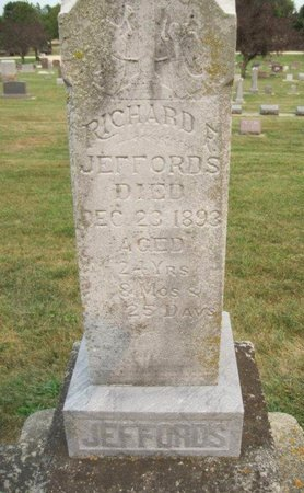 JEFFORDS, RICHARD F. - Chickasaw County, Iowa | RICHARD F. JEFFORDS