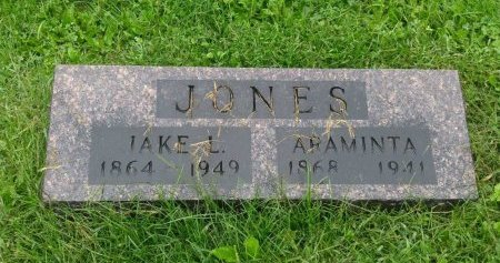 JONES, JACOB L - Chickasaw County, Iowa | JACOB L JONES