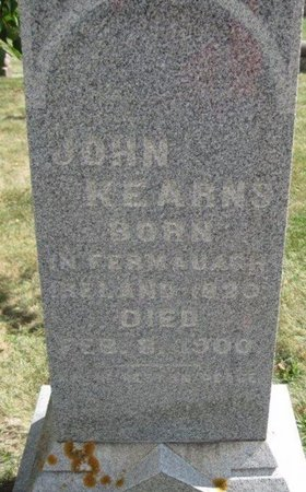 KEARNS, JOHN - Chickasaw County, Iowa | JOHN KEARNS