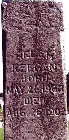 KEEGAN, HELEN - Chickasaw County, Iowa | HELEN KEEGAN