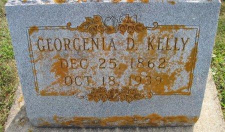 KELLY, GEORGENIA D. - Chickasaw County, Iowa   GEORGENIA D. KELLY