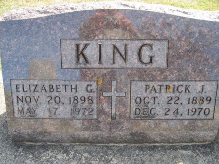 KING, PATRICK J. - Chickasaw County, Iowa | PATRICK J. KING