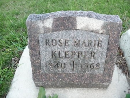 KLEPPER, ROSE MARIE - Chickasaw County, Iowa | ROSE MARIE KLEPPER