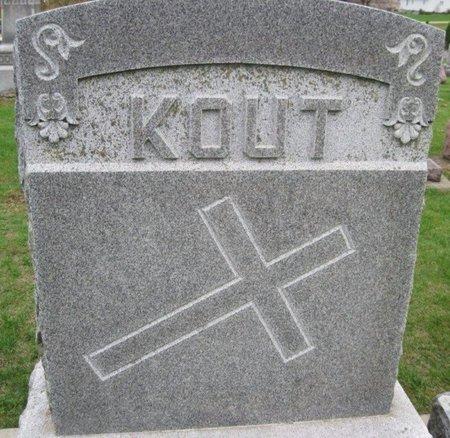 KOUT, M. A. - Chickasaw County, Iowa | M. A. KOUT