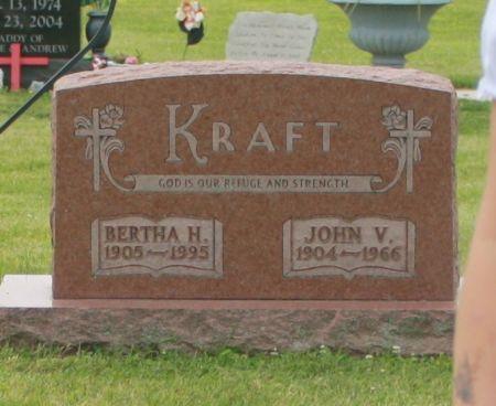 KRAFT, JOHN V. - Chickasaw County, Iowa   JOHN V. KRAFT