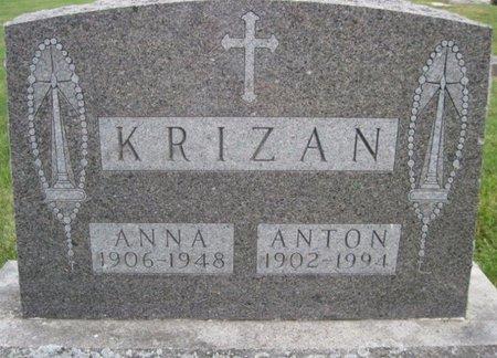 KRIZAN, ANNA - Chickasaw County, Iowa | ANNA KRIZAN