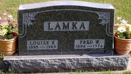 LAMKA, LOUISE K. - Chickasaw County, Iowa | LOUISE K. LAMKA