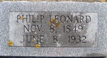 LEONARD, PHILIP - Chickasaw County, Iowa | PHILIP LEONARD