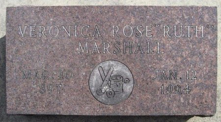 MARSHALL, VERONICA ROSE