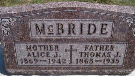 MCBRIDE, THOMAS J. - Chickasaw County, Iowa | THOMAS J. MCBRIDE