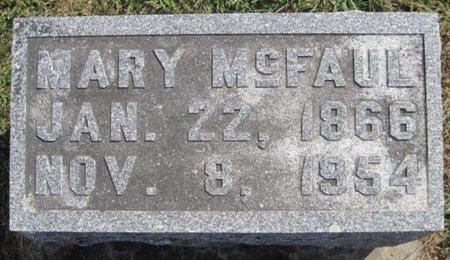 MCFAUL, MARY - Chickasaw County, Iowa   MARY MCFAUL
