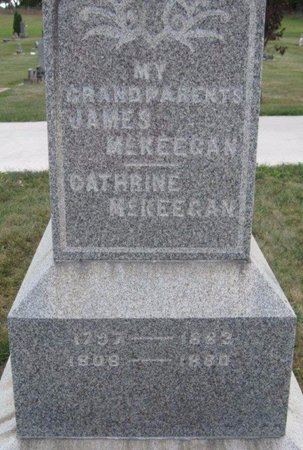 MCKEEGAN, CATHRINE - Chickasaw County, Iowa | CATHRINE MCKEEGAN