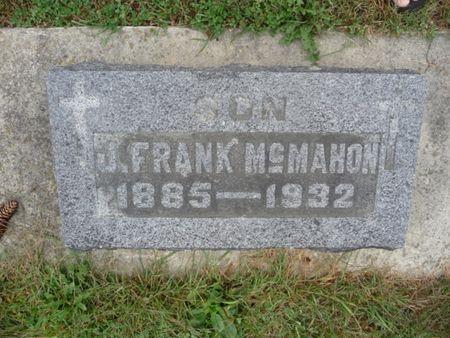 MCMAHON, J. FRANK - Chickasaw County, Iowa | J. FRANK MCMAHON