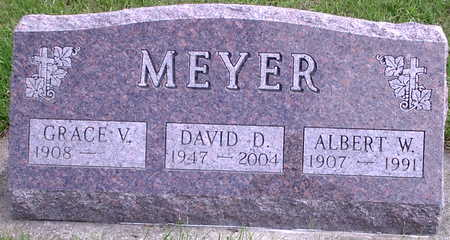 MEYER, ALBERT W. - Chickasaw County, Iowa | ALBERT W. MEYER