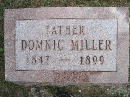 MILLER, DOMNIC - Chickasaw County, Iowa | DOMNIC MILLER