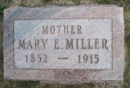 MILLER, MARY E. - Chickasaw County, Iowa | MARY E. MILLER