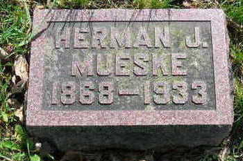MUESKE, HERMAN JULIUS - Chickasaw County, Iowa | HERMAN JULIUS MUESKE