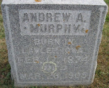 MURPHY, ANDREW A. - Chickasaw County, Iowa | ANDREW A. MURPHY
