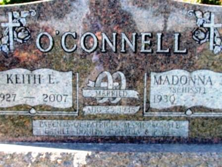 O'CONNELL, MADONNA - Chickasaw County, Iowa | MADONNA O'CONNELL