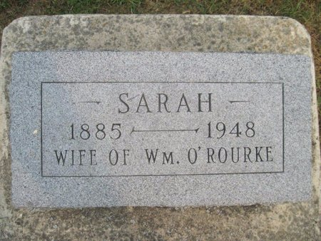 O'ROURKE, SARAH - Chickasaw County, Iowa   SARAH O'ROURKE