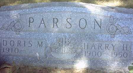 PARSON, HARRY H. - Chickasaw County, Iowa | HARRY H. PARSON